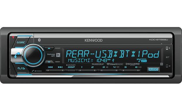 kenwood kdc bt568u cd receiver at crutchfield com rh crutchfield com Kenwood Stereo Wiring Diagram Kenwood Car Radio Wiring Diagram