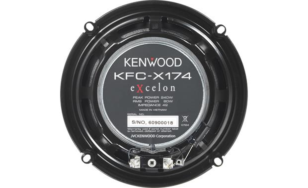 Kenwood Excelon KFC-X174 Back