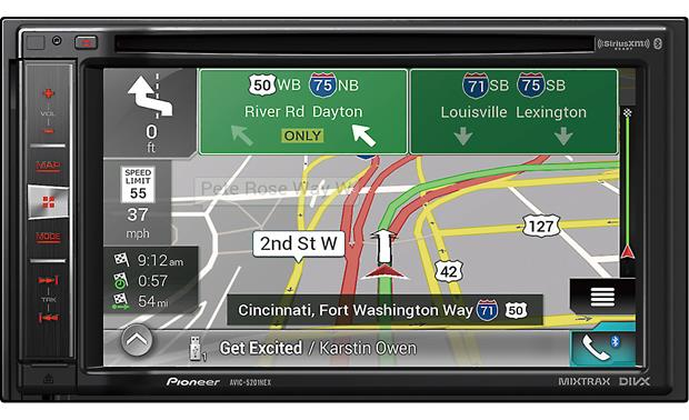 Pioneer AVIC-5201NEX Navigation receiver at Crutchfield.com on pioneer backup camera installation, 2005 ford escape fog light wiring diagram, pioneer car audio wiring diagram, pioneer brake bypass relay wiring diagram, pioneer speaker wiring diagram, pontiac g6 radio wiring diagram,