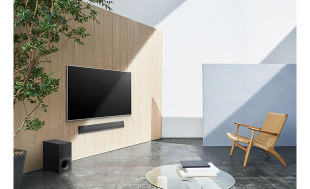 Sony HT-CT800 Can be flipped and wall-mounted