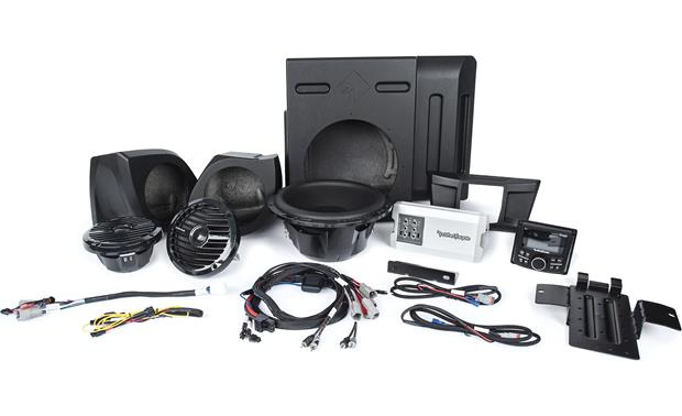 Rockford Fosgate YXZ-STAGE3 audio upgrade kit