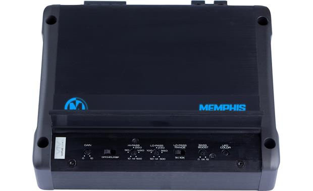 Memphis Audio VIV200.2 Cover open showing controls