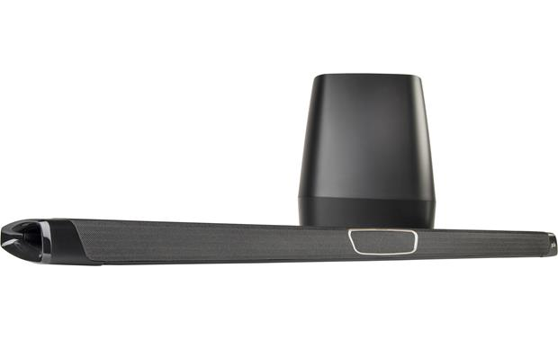 Polk Audio MagniFi MAX SR Slim sound bar with seven built-in drivers and wireless 8