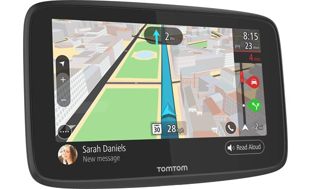 TomTom GO 52 Portable navigator with 5 display plus free lifetime