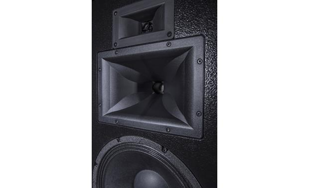 Klipsch Heritage Forte III A horn-loaded midrange driver and tweeter combine for terrific sound