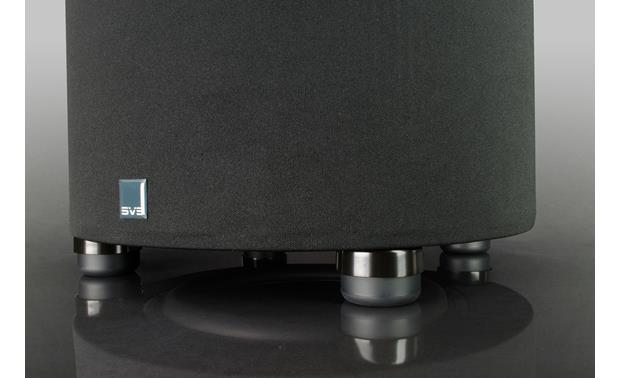 SVS SoundPath Subwoofer Isolation System Shown with a cylindrical SVS subwoofer (not included)