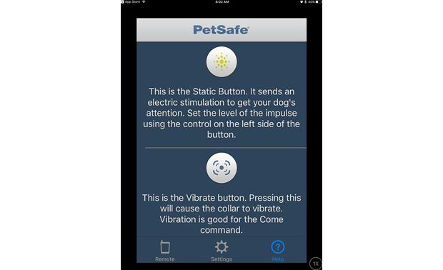 PetSafe SMART DOG® Trainer The free SMART DOG app gives you a tutorial on its functions