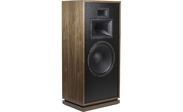 Klipsch Heritage Forte III Angled front view with grille removed