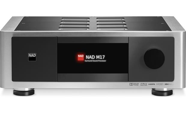 NAD Masters M17 and VM300 (Factory Recertified) Front