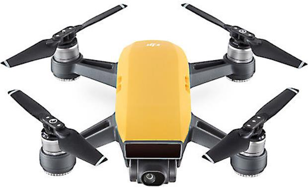 DJI Spark Mini Drone Sunrise Yellow