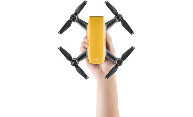 DJI Spark Mini Drone Compact quadcopter with intuitive gesture-based control