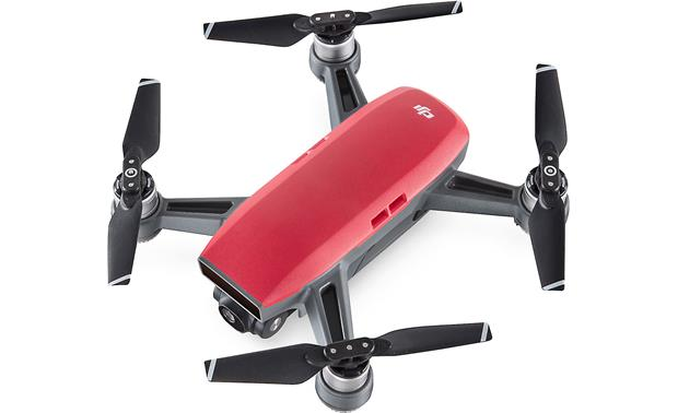 DJI Spark Fly More Combo Obstacle-sensing technology helps avoid collisions