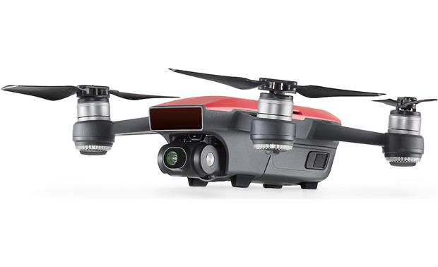 DJI Spark Fly More Combo 2-axis camera gimbal lets you shoot steady footage during flight