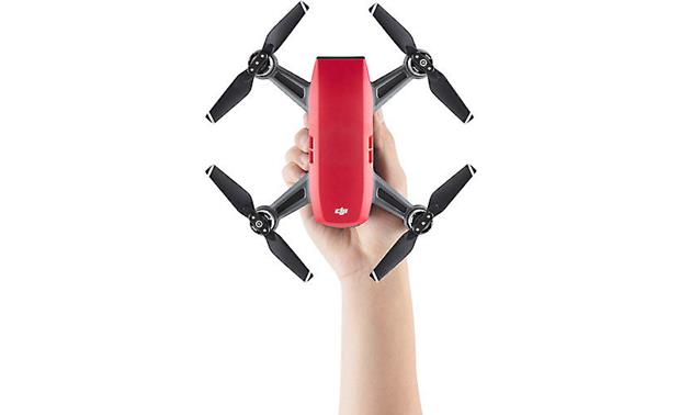 DJI Spark Fly More Combo Compact quadcopter with intuitive gesture-based control