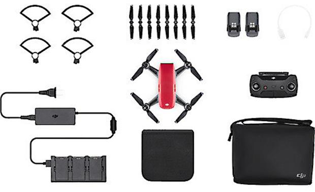 DJI Spark Fly More Combo Included accessories