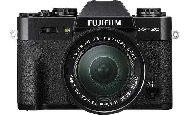 Fujifilm X-T20 16-50mm Lens Kit Front