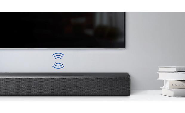 Samsung Sound+ HW-MS650 Wirelessly connect your compatible Samsung TV to the sound bar via Bluetooth