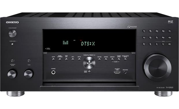 Onkyo TX-RZ820 Front-panel connections and controls
