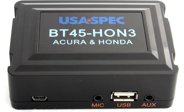 USA Spec BTHON Add Bluetooth Functionality To Select - 2004 acura mdx bluetooth