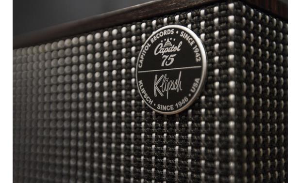 Klipsch The Capitol Three Special Edition Ebony - Capitol Records logo detail