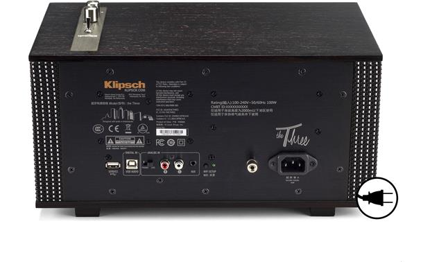 Klipsch The Capitol Three Special Edition Ebony - AC Power Required