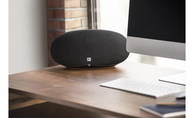 JBL Playlist Black - compact form fits in almost anywhere