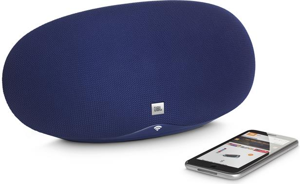 JBL Playlist Blue - control wirelessly with Google Home app (smartphone not included)