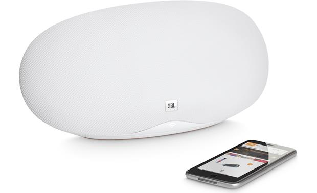 JBL Playlist White - control wirelessly with Google Home app (smartphone not included)