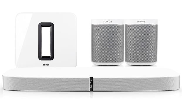 Sonos Playbase 5.1 Home Theater System White