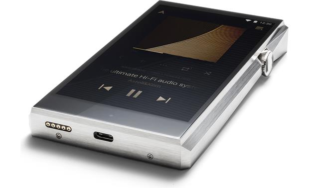 Astell&Kern A&ultima SP1000 Stainless Steel - USB 3.0 (type C) connection offers faster file transfer and charging