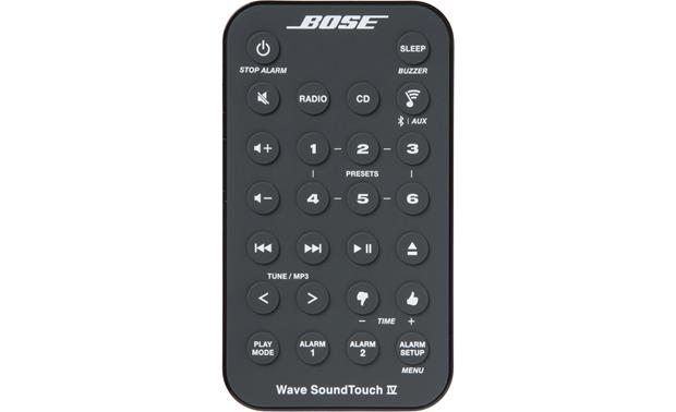 Bose® Wave® SoundTouch® wireless music system IV Remote