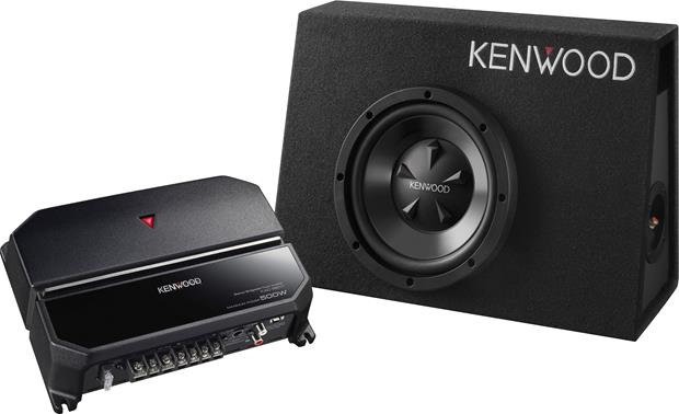 Kenwood P-W101B 170-watt Bass Package Front