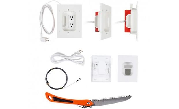 Metra ethereal Double Outlet Relocation Kit Includes everything you need to create a power outlet behind your TV