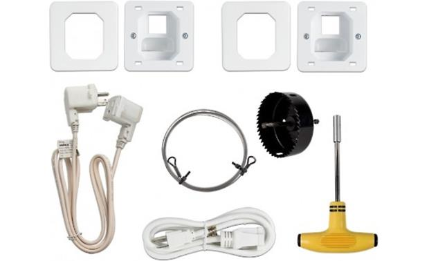 Metra ethereal Power Relocation Kit Everything you need to create an outlet behind your TV