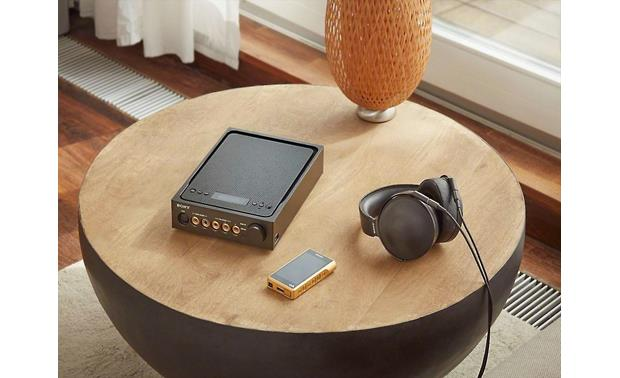 Sony NW-WM1Z Premium Walkman® Use with Sony MDR-Z1R headphones and a Sony TA-ZH1ES headphone amplifier/DAC/preamp for a personal high-res audio system (headphones and DAC available separately)