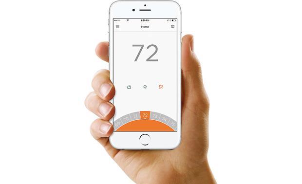 Honeywell Lyric T5 Wi-Fi® Thermostat Smart thermostat at