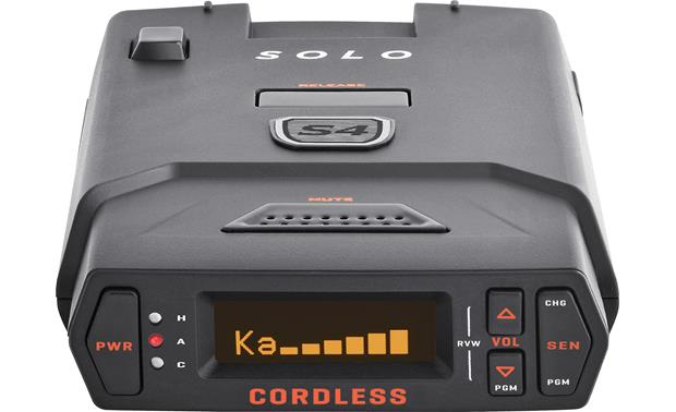 Wireless Radar Detector >> Escort Solo S4 Cordless Radar Detector At Crutchfield