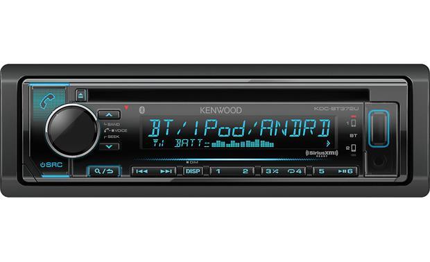 kenwood kdc bt372u cd receiver at crutchfield com rh crutchfield com Deck Wiring-Diagram Kenwood 400U Kenwood Speaker Wiring Diagram