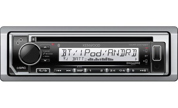 Kenwood KMRD372BT Marine CD receiver with Bluetooth at Crutchfieldcom