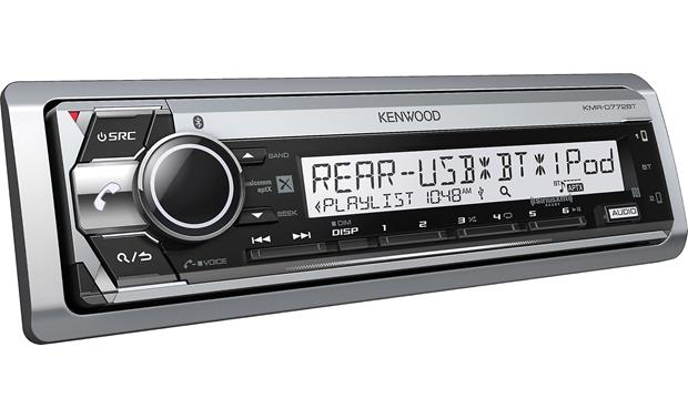 Kenwood KMR-D772BT Anti-glare display