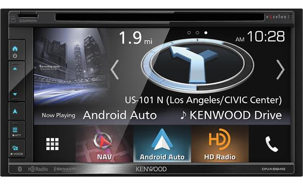 Kenwood Excelon DNX694S Front