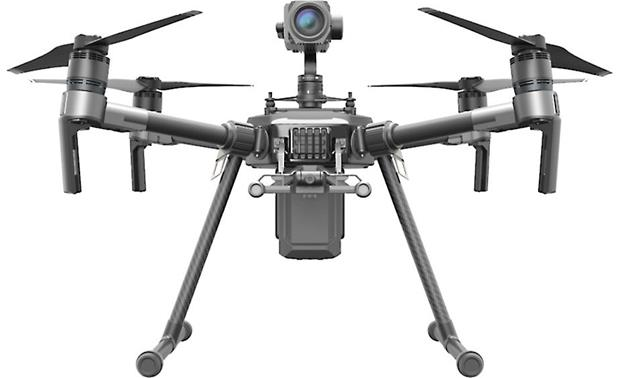 DJI Matrice 210 Single upward gimbal configuration
