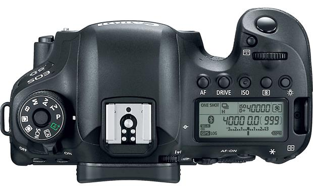 Canon EOS 6D Mark II Kit Top