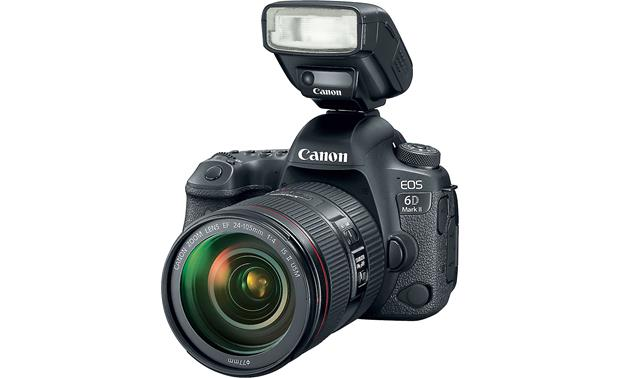 Canon EOS 6D Mark II L-series Zoom Lens Kit Shown with Canon Speedlite attached (not included)