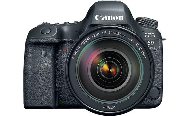 Canon EOS 6D Mark II L-series Zoom Lens Kit Front, straight-on