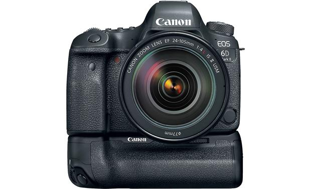 Canon EOS 6D Mark II L-series Zoom Lens Kit Shown with optional battery grip (not included)