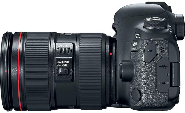 Canon EOS 6D Mark II L-series Zoom Lens Kit Right side view