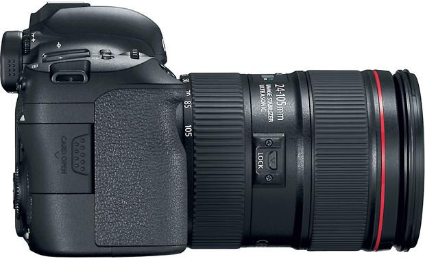 Canon EOS 6D Mark II L-series Zoom Lens Kit Left side view