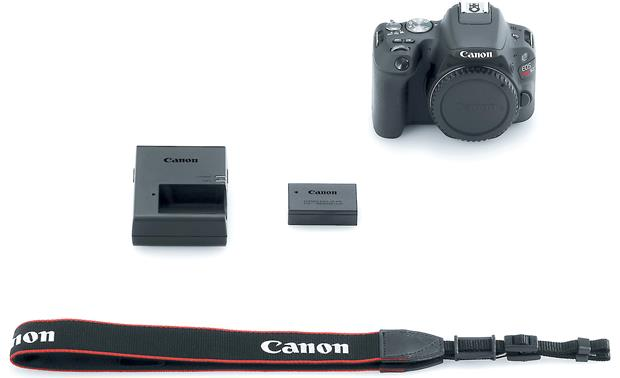 Canon EOS Rebel SL2 (no lens included) Shown with included accessories