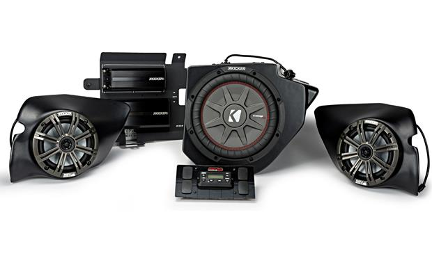 Kicker/SSV Works 44PRZ33 3-speaker System Polaris RZR audio upgrade kit